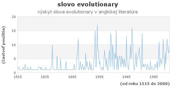 slovo evolutionary
